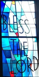 Blessing glass